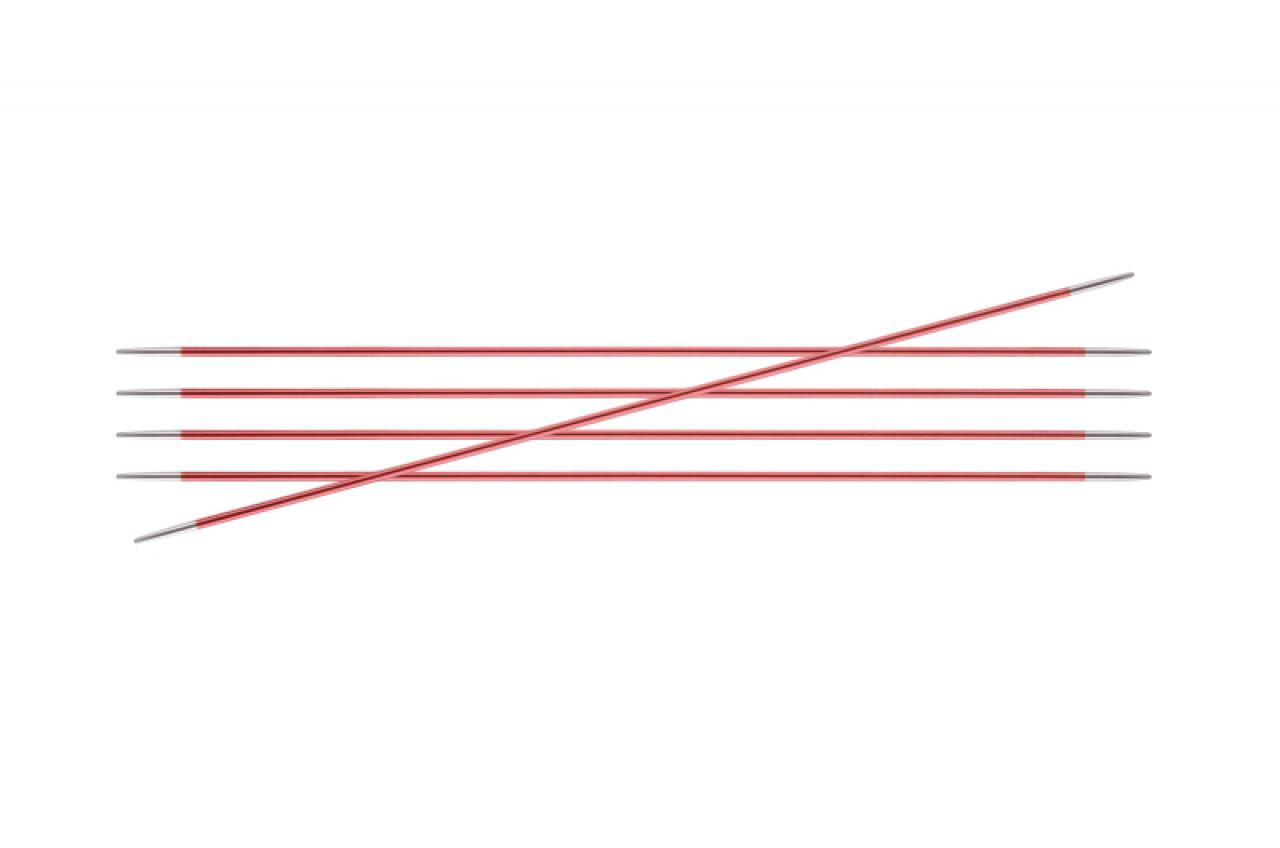 Спицы KnitPro Zing чулочные 2,0 мм/15 см 47001