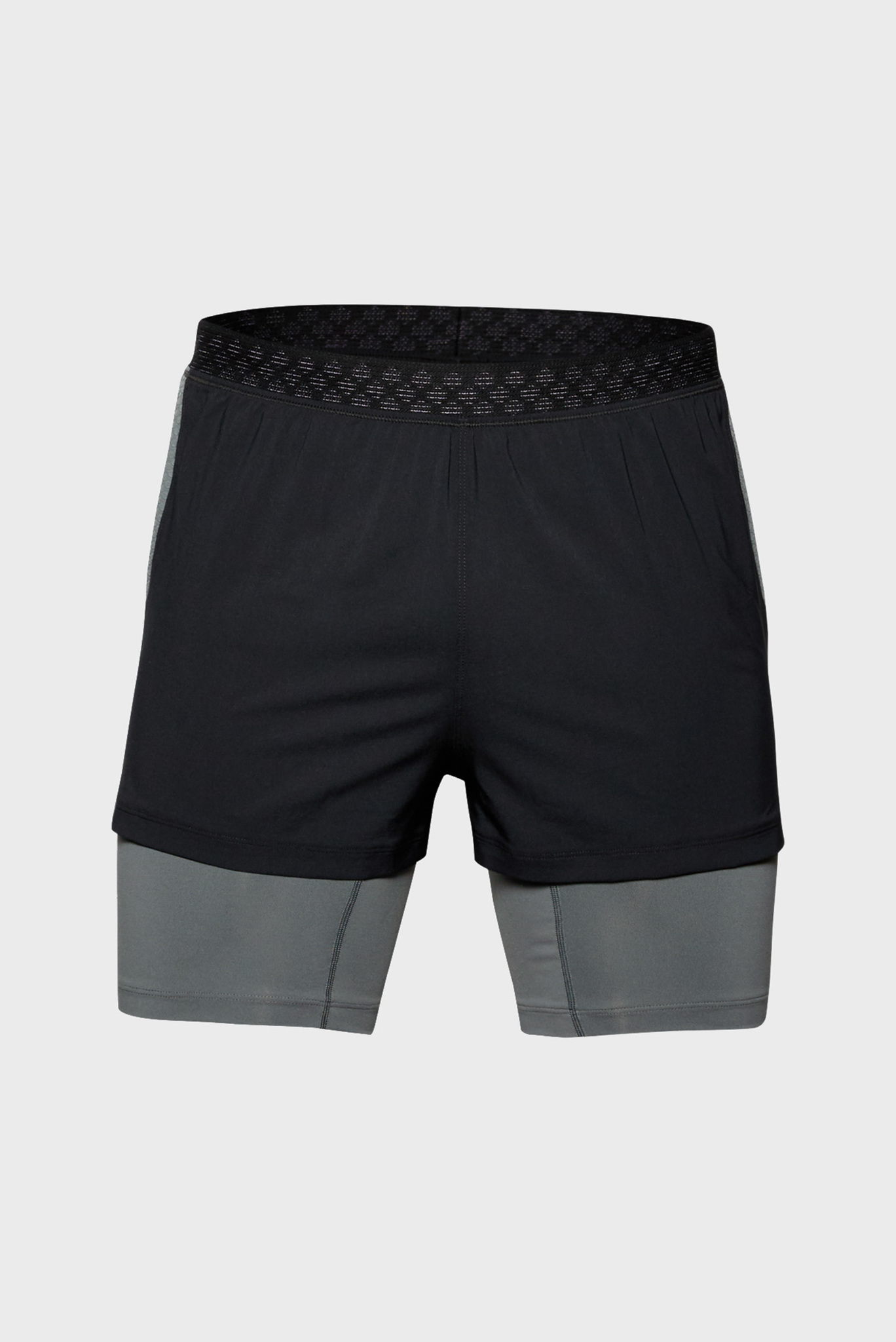 Мужские черные спортивные шорты UA M RUSH Run 2 Under Armour