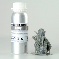 Фотография — Фотополимер Wanhao Standard Resin, серый (250 мл)