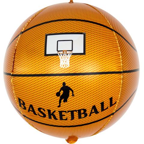 Шар сфера 3D Баскетбольный мяч, 58 см