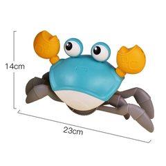 Заводная игрушка «Бегающий краб» Игрушка для воды и суши