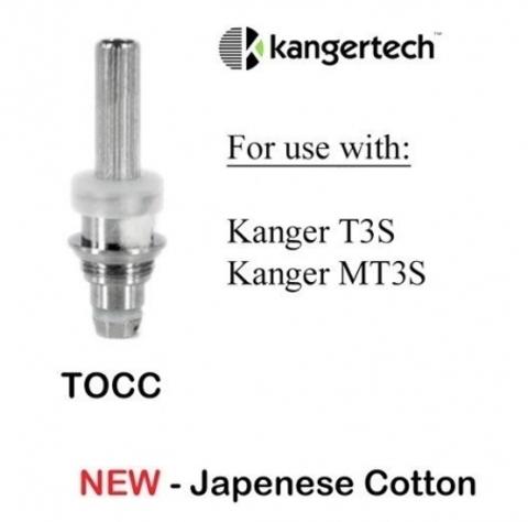 Сменный испаритель Kanger T3s TOCC (2,2 Ω) 1шт.
