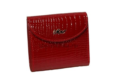 Женский кошелек Moro Jenny 59051 red из лакированной кожи