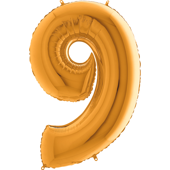 Золотая цифра 9