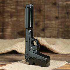 Набор «Пистолет с глушителем» 3 предмета 0,3 л, фото 3
