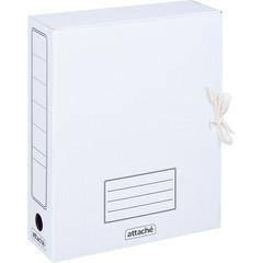Короб архивный Attache картон белый 252x78x326 мм