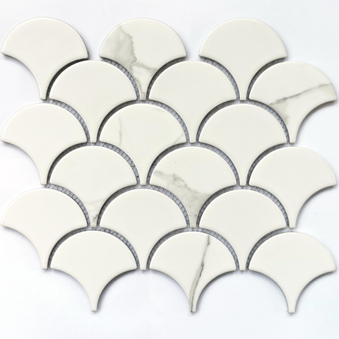 Мозаика керамическая Calacatta-scale 255х219
