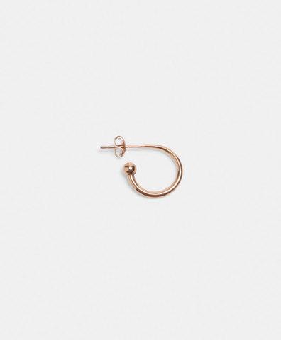 Моно-серьга Mini Hoop Single