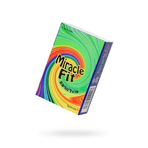 Sagami Xtreme №5 Miracle Fit Презервативы латексные