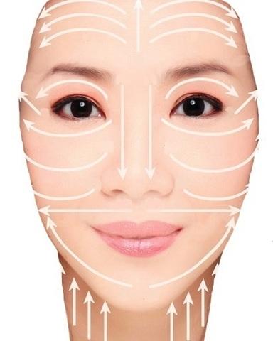 Массажёр для лица и зоны декольте, 9 × 3,5 см, розовый кварц