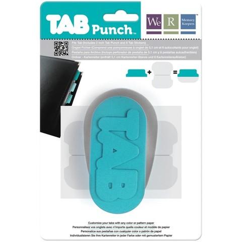 Инструмент- дырокол для вырубки табов (ярлычков) Tab Punch by We R Memory Keepers