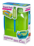 Набор Snack: контейнер и бутылка 475мл, артикул 1596, производитель - Sistema
