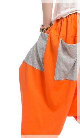 Шаровары Оранжевое настроение
