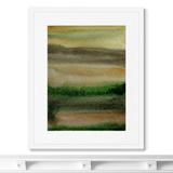 Marina Sturm - Репродукция картины в раме Late evening landscape view