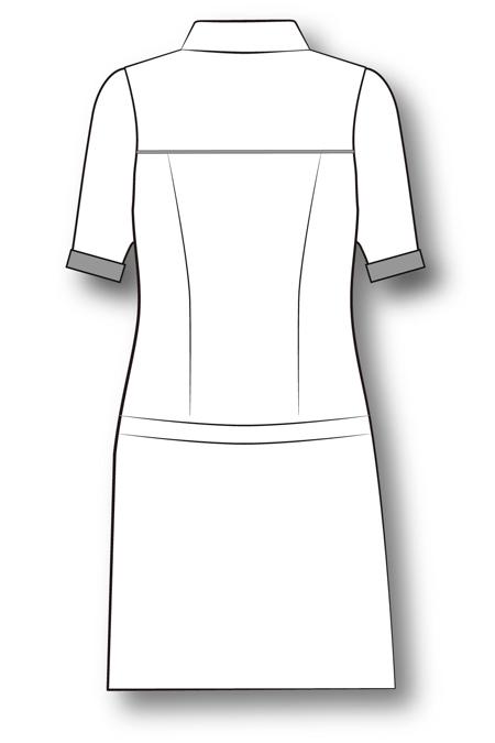 Выкройка туники - рубашки отрезной по бёдрам на заказ