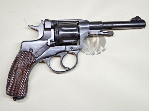 Охолощенный Револьвер системы Наган ИЖ-172