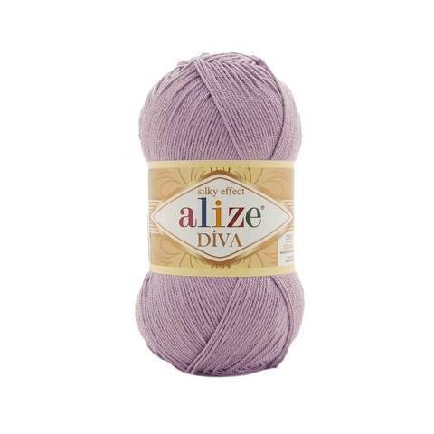 Пряжа Alize Diva 505 пыльная сирень