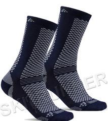 Теплые Термоноски Craft Warm XC синие (2 пары)
