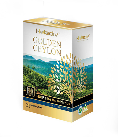 Чай листовой heladiv GOLDEN CEYLON FBOP Tips 100 гр