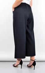 Клара. Офисные брюки плюс сайз. Черный.