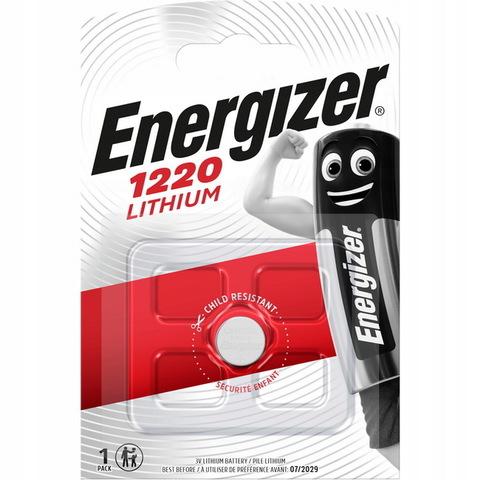 Батарейки литиевые Energizer CR 1220, 3V, 1 BL