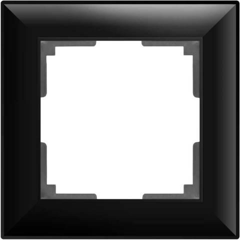 Werkel Рамка W0012208 (WL14-Frame-01) черный матовый