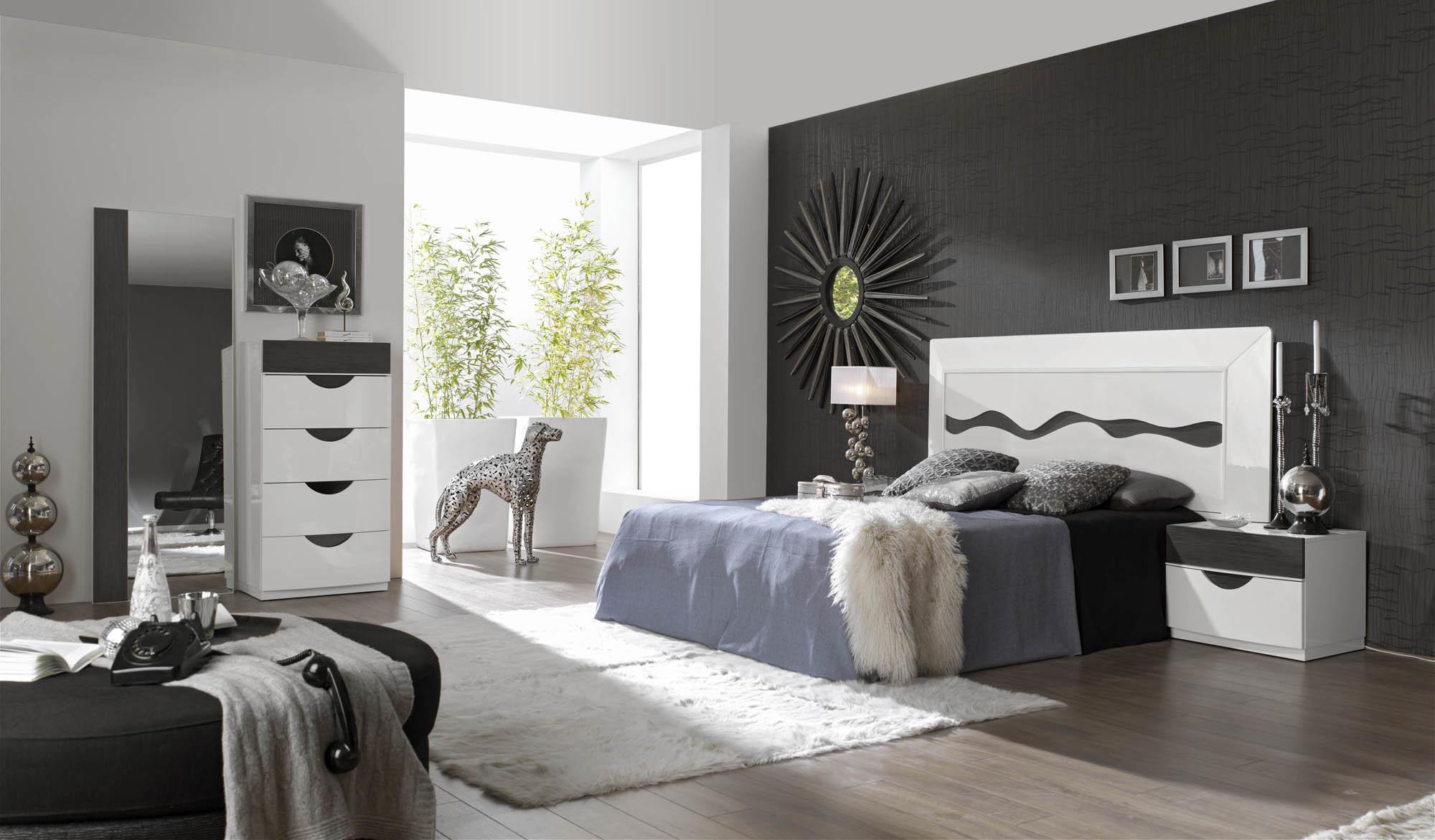 Спальня Fenicia Mobiliario 500 ОNDAS Blanco