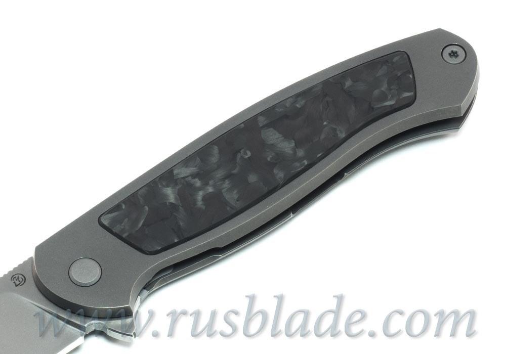 Cheburkov Scout M390 Figure chaotic carbon - фотография