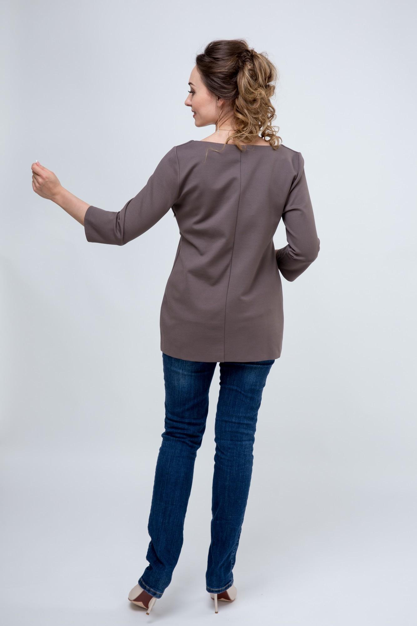 Блузка для беременных 09046 капучино