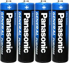 Батарейки Panasonic R03, AAA (4/60)