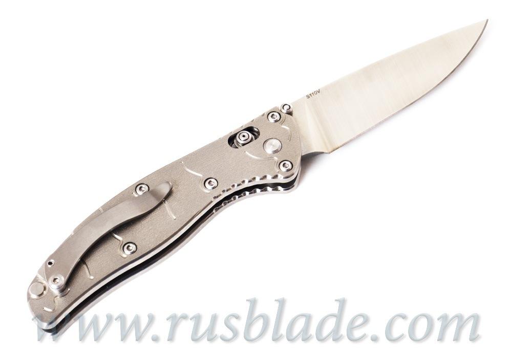 Shirogorov Tabargan S110V Titanium Axis Exclusive - фотография