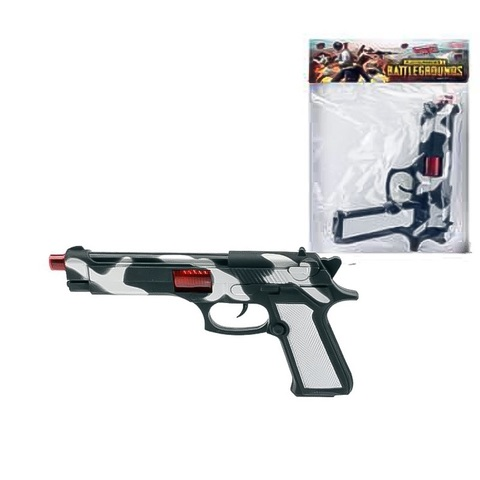 Оружие детское- Пистолет Трещетка Глок в пак.,1кор*1бл*5шт