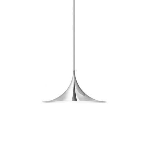 Подвесной светильник копия Semi by Gubi (серебряный)