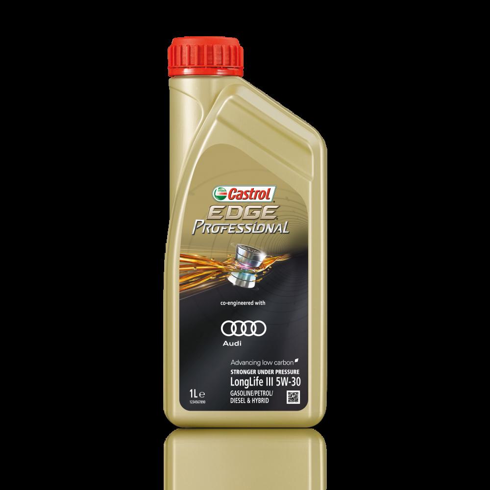 Castrol EDGE Professional Longlife III 5W30 Синтетическое моторное масло для AUDI