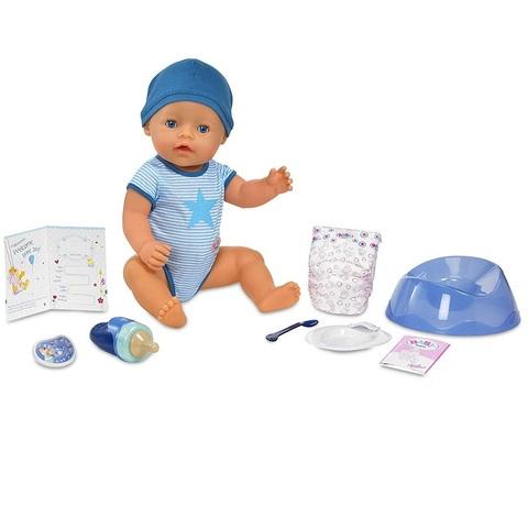 Беби Бон Мальчик в голубом боди