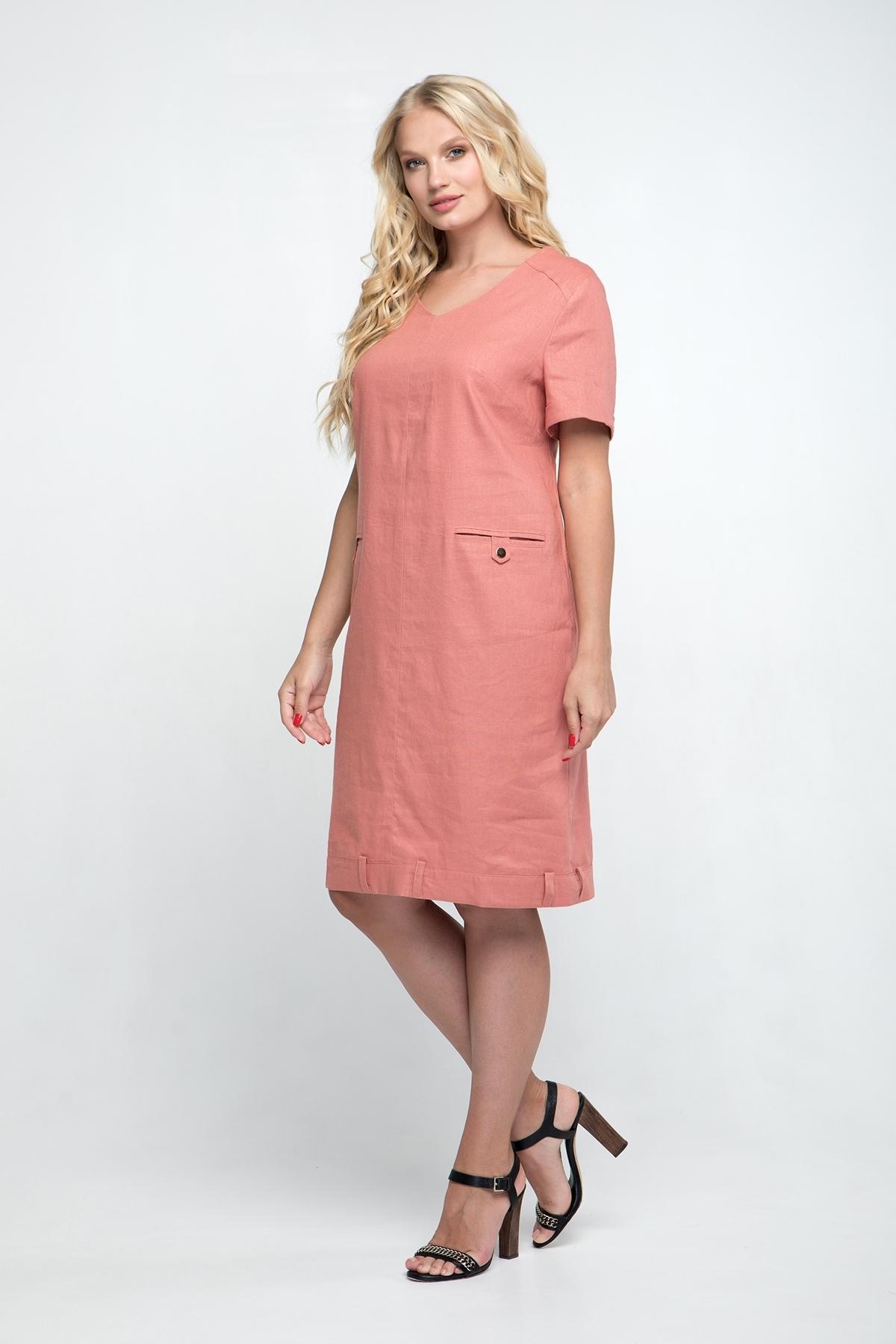 Платье Устинья (персик)