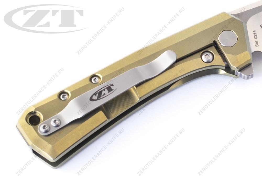 Нож Zero Tolerance 0808GLD Rexford - фотография