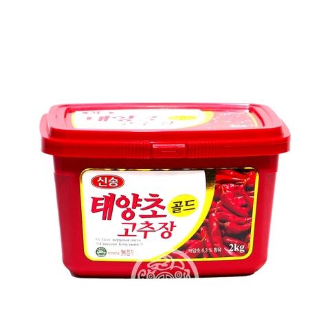 Перцовая паста Кочуджянг Синсонг  2кг Корея
