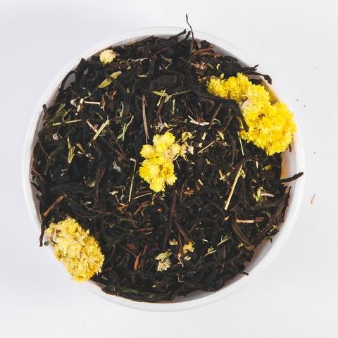 ЧЕРНЫЙ ВЗВАР Травяной чай Контейнер биоразлагаемый крафт 80 грамм