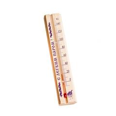Термометр для бани и сауны деревянный  в пакете, 2545540