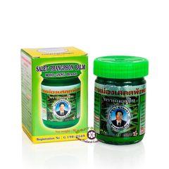 Зеленый тайский бальзам с клинакантусом  КонгкаХерб 50 мл/Salet Phangphon Green Balm 50 ml. Kongka Herb