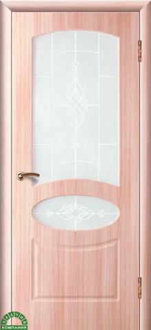 Дверь Консул (марроне, глухая ПВХ), фабрика Зодчий