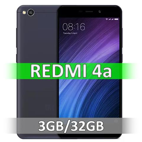 Смартфон Xiaomi Redmi 4A (2-32Gb) Black