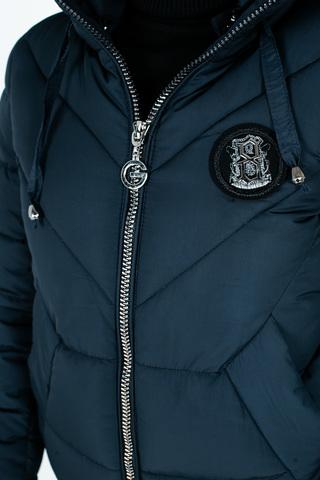 Куртка плащевка на синтепоне с капюшоном Nadya