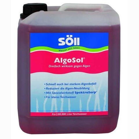 Препарат для борьбы с водорослями в пруду Soll AlgoSol 10L