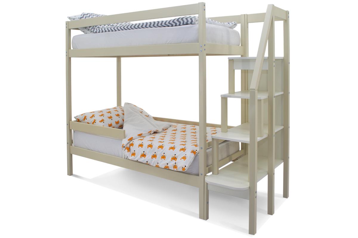Двухъярусная кровать «Svogen» бежевый