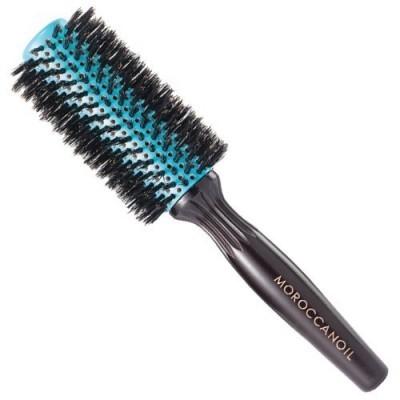 Moroccanoil Accessories: Щетка для волос с круглой термокерамической насадкой WTB35 (Boar Bristle Round Brush 35mm), 1шт