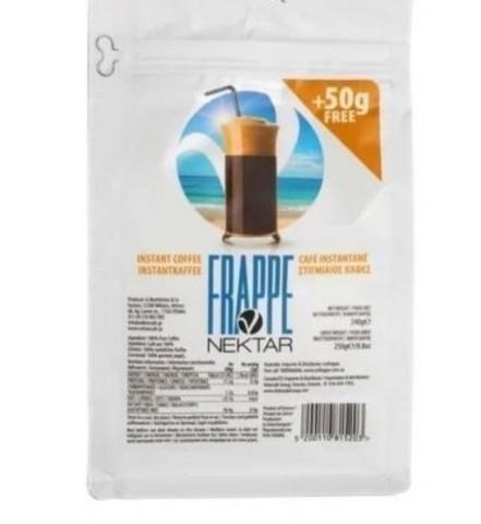 Греческий кофе Фраппе растворимый Nectar 250 гр