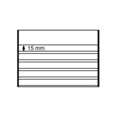 Планшет для марок 210x148 мм, 5 полосок, черная основа, уп. 50 шт