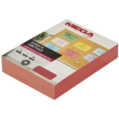 Бумага цветная для офисной техники Promega jet Intensive красная (А4, 80 г/кв.м, 500 листов)